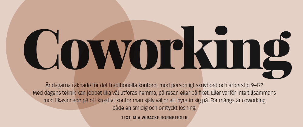 Coworking Anette Gustafsson